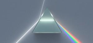 Brechung von Licht am Prisma