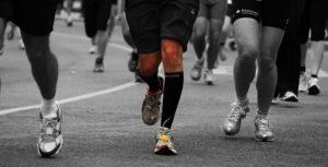Läufer beim Vienna City Marathon